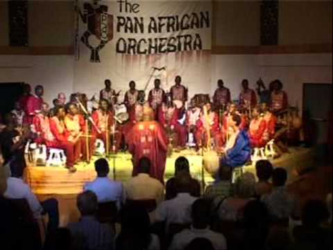 The Pan African Orchestra - Mmenson ( ghana)