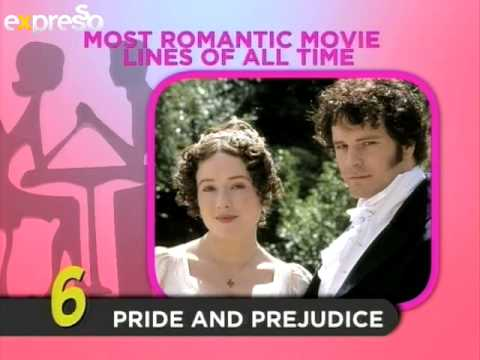 Parmalat Fabulite Top 10: Most Romantic Movie Lines Of All Time (19.2.2013)