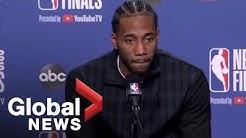 NBA Finals: Kawhi Leonard laments poor 3rd quarter in Game 2 loss