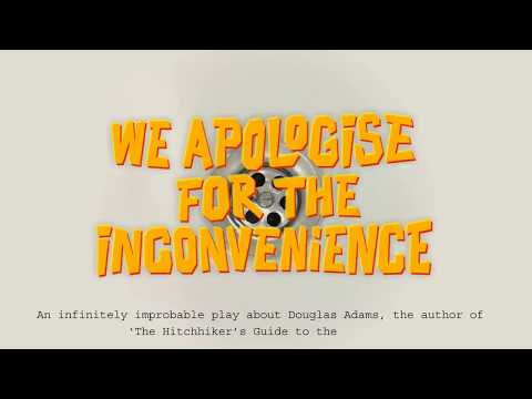 We Apologise for the Inconvenience - Trailer (Hitchhiker's Guide to the Galaxy-style)