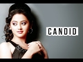 Candid with Helly Shah