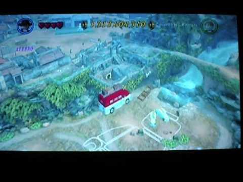 Lego Indiana Jones 2 Glitch Flying Bus Wii Youtube