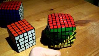 7x7 spiral cube