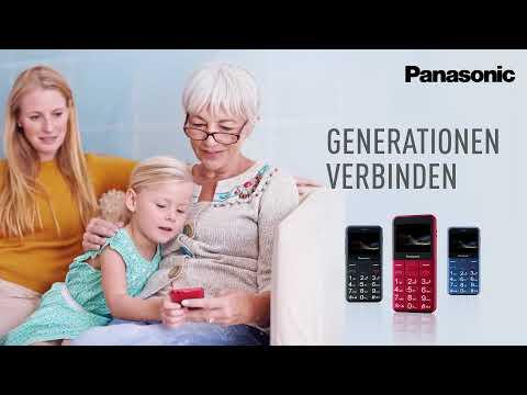 Panasonic Senioren-Mobiltelefon KX-TU150 - zuverlässig & leicht zu bedienen