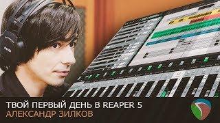 Твой первый день в Reaper 5 [Нескучный Саунд]