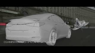 Lexus ES . Post Production Breakdown