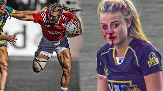 THE VICIOUS SIDE Of Women's Rugby | Watch These Ladies Dish Out Some BIG HITS & MONSTER TACKLES