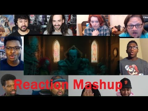 IT   Official Trailer 1 REACTION MASHUP #2