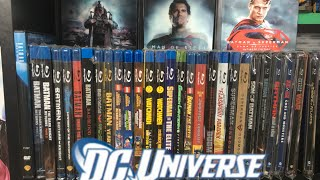 COMPLETE DC ANIMATED BLU RAY COLLECTION