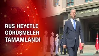 Rus heyetle Türkiye - Rusya, Karabağ - Suriye konuları görüşüldü