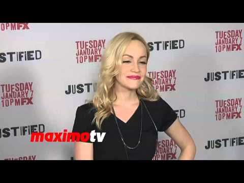 Cathy Baron FX's JUSTIFIED Season 5 Premiere Screening Arrivals  Teri