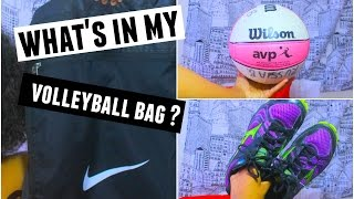 What's In My Volleyball Bag?   Summer Edition 2015