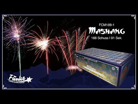 """Mashang"" - 188 Shots 20-30mm Compound Fireworks [Batch 2020]"