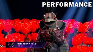 Turtle sings Kiss From A Rose by Seal | THE MASKED SINGER | SEASON 3