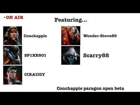 Paragon v31.0 PVP Wonder-Steve89, Scarry88, CIRAIIGY, SP1KE501 And Conchappie Part 1