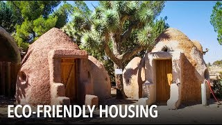 How to build an earth-friendly home with sandbags | VOA Connect thumbnail