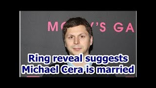 Ring reveal suggests Michael Cera is married