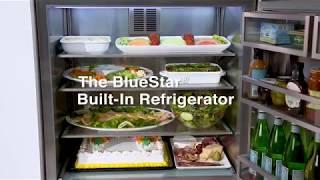 """BlueStar 36"""" Built-in Refrigerator"""