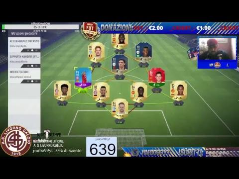 COMPLETIAMO THIAGO 91 + NEWS SULLO SPONSOR !! FIFA 18 ROAD TO 700 ISCRITTI