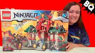 LEGO Ninjago Battle for Ninjago City 70728 Speed Build & Review