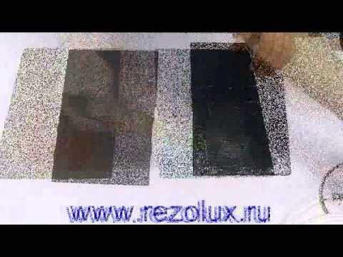Как правильно делать ремонт битумной кровли резиновой краской Rezolux Universal