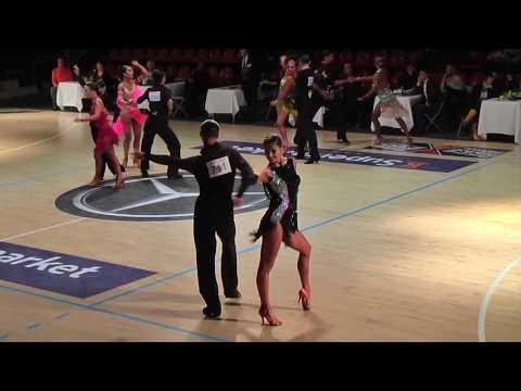 Andrey Khramchikhin - Evgenia Manukovskaya | SF Cha Cha Cha | Helsinki Open 2017