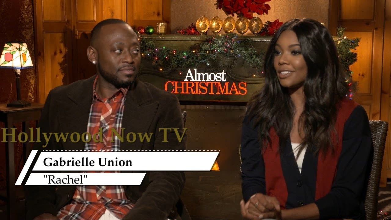 Almost Christmas Actor Omar.Almost Christmas Cast Interview