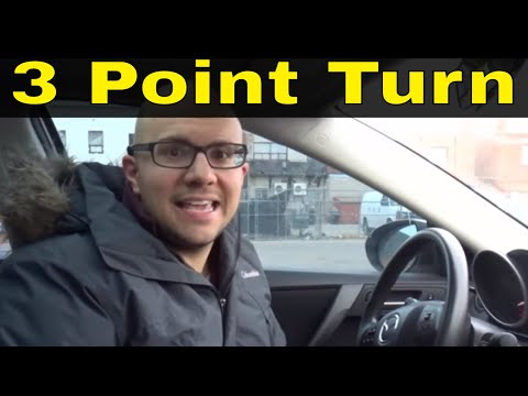How To Do A 3 Point Turn In 3 Easy Steps-Beginner Driving Lesson