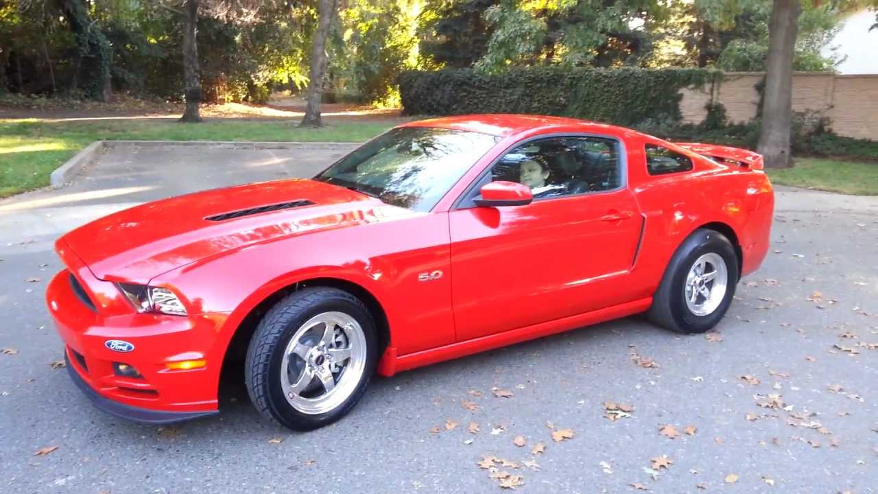 2013 Mustang Gt Race Red Auto California Special Youtube