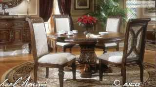 Villagio Round Dining Room Collection From Aico Furniture