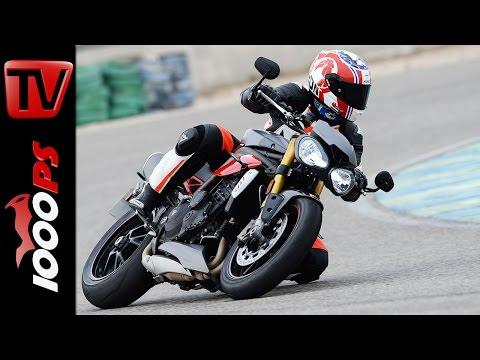 Triumph Speed Triple R Test 2016 | Fazit, Onboard, Fahreindrücke (English Subs)