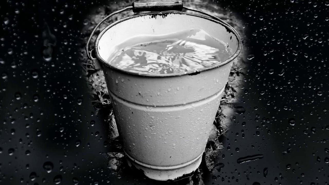 Вода капает в ведро - шум дождя - расслабляющие звуки ...