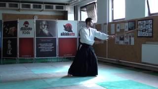zengo no ido choku tsuki [TUTORIAL] Aikido advanced weapon technique