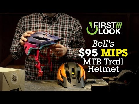 $95 MIPS Trail Helmet for MTB - First Look - Bell 4Forty