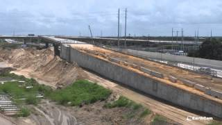 florida dot i 4 connector project time lapse
