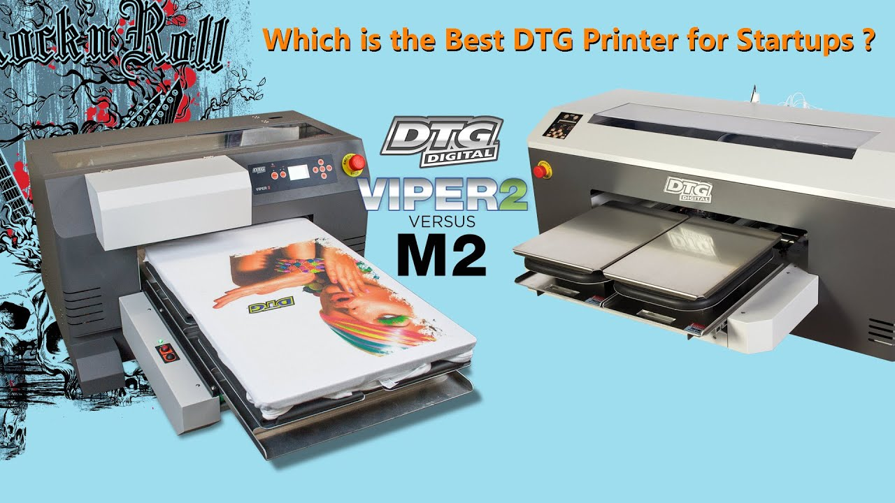 b7d865c2c Which is the Best DTG Printer for Startups | Viper2 vs M2 Live Demonstration
