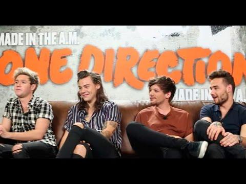 Gud Nite - Diego Alfaro en entrevista con One Direction ¡En Exclusiva!