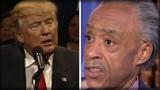 RACIST AL SHARPTON JUST OPENED HIS MOUTH AND PUKED OUT THE NEW TRUMP ATTACK LINE