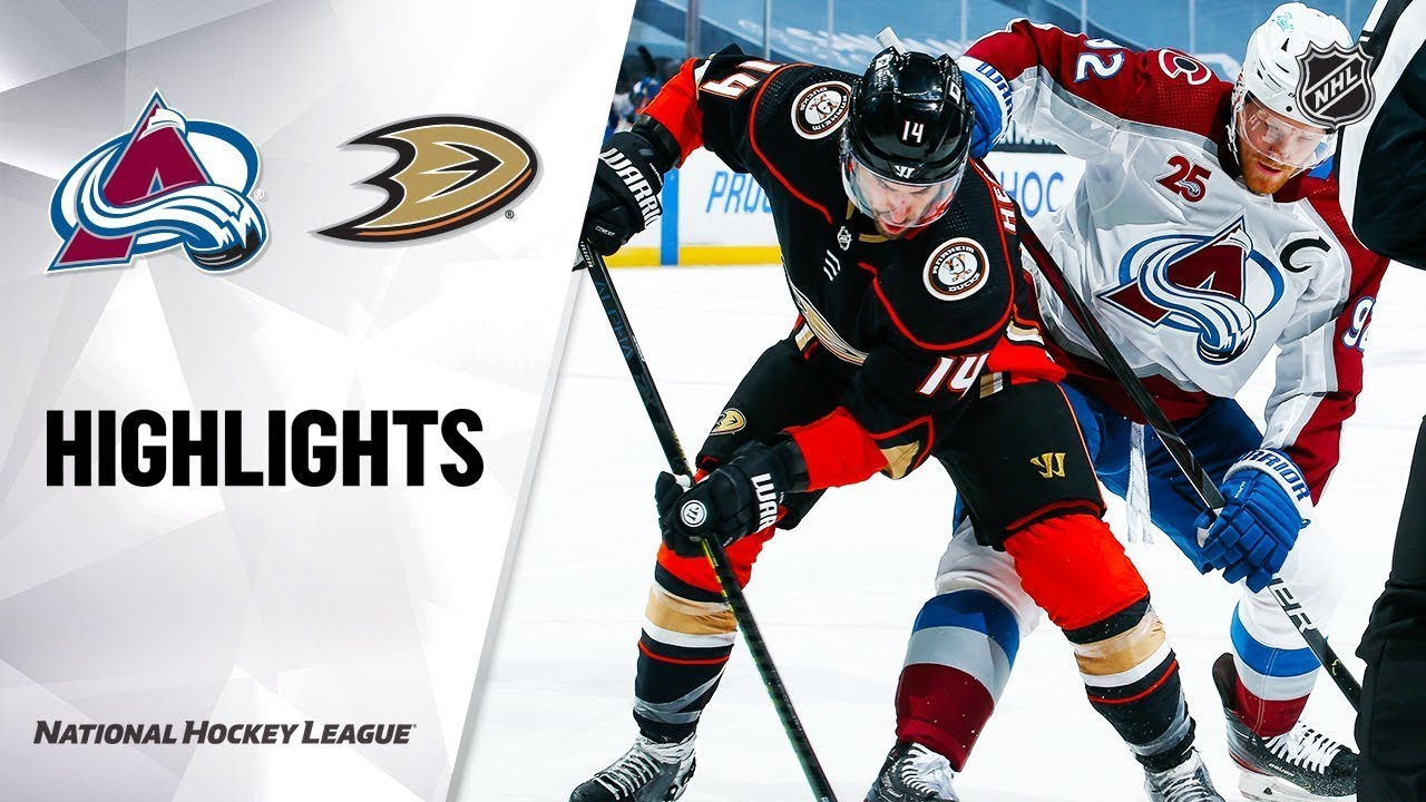 Colorado Avalanche vs Anaheim Ducks | Jan.22, 2021 | Game Highlights | NHL 2021 | Обзор матча