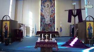 Feb. 28th, Second Sunday of Lent: Rosary \u0026 Divine Liturgy from St. Basil's UGCC, Winnipeg, MB