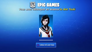 """TSUKI"" SKIN FOR FREE! GLITCH ON FORTNITE - PS4/XBOX ONE/PC/SWITCH"