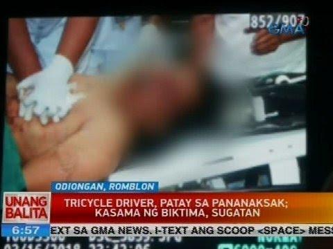 Tricycle driver, patay sa pananaksak