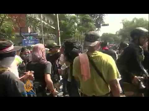 Protests escalate in Thailand amid violence