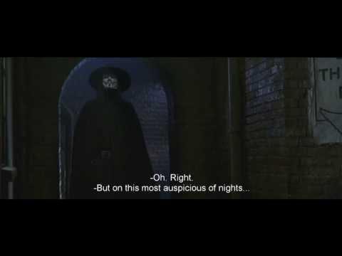 [MF] V for Vendetta - The V monologue - HD