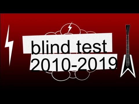 Blind Test 2010 2019 50 Extraits Avec Reponses