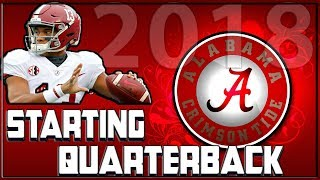 Tua Tagovailoa will be Alabama Starting Quarterback in 2018