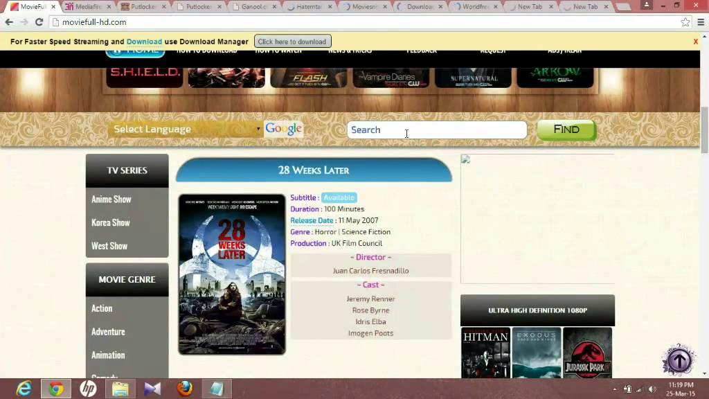 top ten best websites to download free movies youtube
