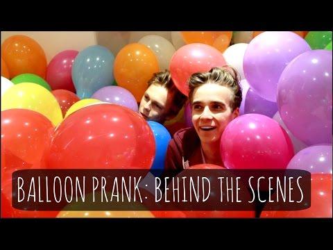 Balloon Prank: Behind The Scenes