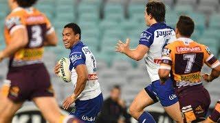 NRL Highlights: Canterbury-Bankstown Bulldogs v Brisbane Broncos - Round 21