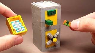 как сделать Банкомат с Сейфом из Лего !